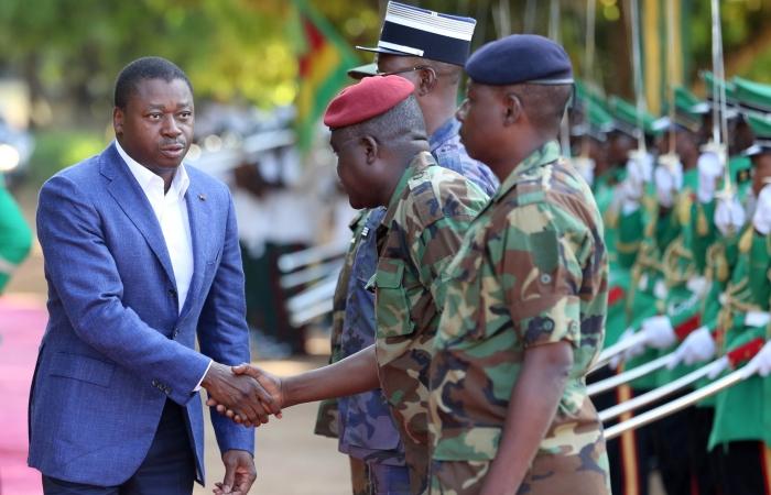 Visite du Chef de l'Etat au 3eme régiment d'infanterie d'Atakpamé, le 10 novembre 2017 - 1