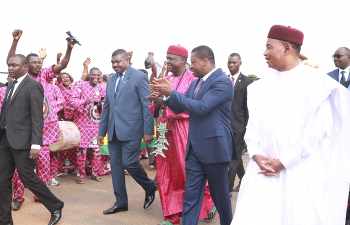 Faure Gnassingbé à Niamey le 5 octobre 2017 (3)