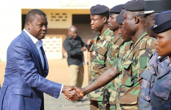 Visite du Chef de l'Etat au 3eme régiment d'infanterie d'Atakpamé, le 10 novembre 2017 - 8