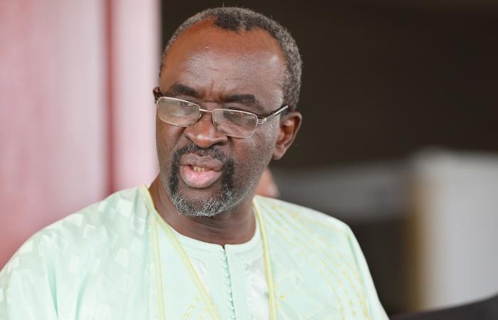 25 août 2017 - Moustapha Cissé Lo, président du Parlement de la Cedeao reçu par Faure Gnassingbé