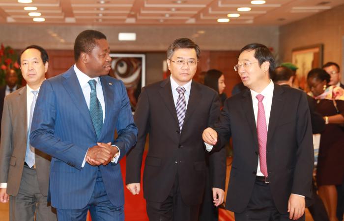 Audience avec l'Ambassadeur de Chine au Togo et les responsables du Groupe CTCE
