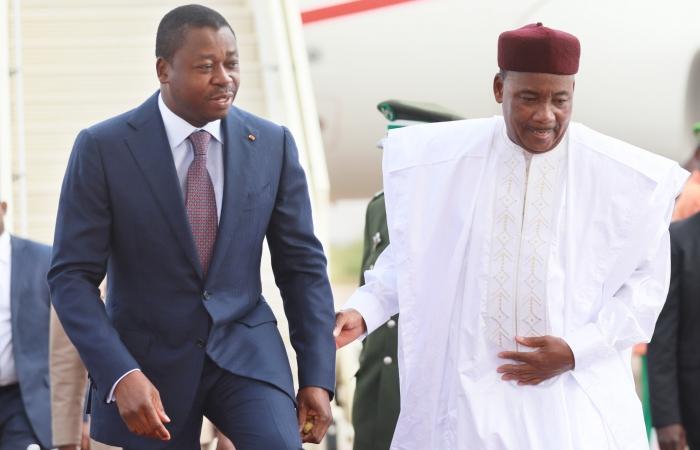 Les présidents Faure Gnassingbé et Mahamadou Issoufou à Niamey le 5 octobre 2017 (4)