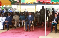 Faure Gnassingbe lance les travaux des ponts Koumongou et Kara (4)