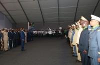 FEG face aux officiers de l'armée décorés