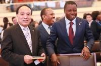 Faure Gnassingbé et Houlin Zhao, Secrétaire général de l'UIT