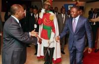 Faure Gnassingbe et Alassane Ouattara - Sommet de l'UEMOA - 10 avril 2017 (bis)
