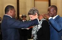 29 Mars 2017 : Mme Helen Clark, Administrateur du PNUD, élevée au rang de Commandeur de l'Ordre du Mono par le Chef de l'Etat Faure Gnassingbé  (3)