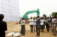 Faure Gnassingbee lance les travaux des ponts Koumongou et Kara (8)