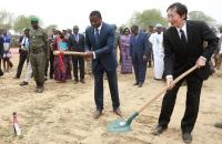 Faure Gnassingbe lance les travaux des ponts Koumongou et Kara (9)