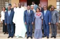 25 août 2017 - Faure Gnassingbé reçoit une délégation du Parlement de la Cedeao