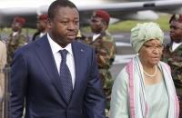 Ellen Johnson Sirleaf accueille Faure Gnassingbe a Monrovia  - 12 Avril 2017
