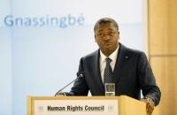 FAURE GNASSINGBÉ À LA TRIBUNE DU CONSEIL DES DROITS DE L'HOMME DE L'ONU