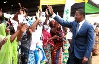 Faure Gnassingbe lance les travaux des ponts Koumongou et Kara (3)