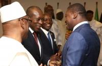 Faure Gnassingbe et Patrice Talon - Sommet de l'UEMOA - 10 avril 2017