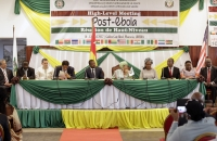 High Level Meeting on post-Ebola - Monrovia - 12 Avril 2017 b