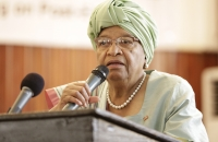 Ellen Johnson Sirleaf - High Level Meeting on post-Ebola - Monrovia - 12 Avril 2017 c