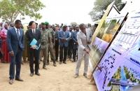 Faure Gnassingbe lance les travaux des ponts Koumongou et Kara (7)