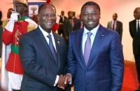 Faure Gnassingbe et Alassane Ouattara au Sommet de l'UEMOA - 10 avril 2017