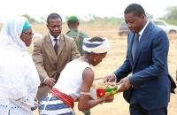 Faure Gnassingbe lance les travaux des ponts Koumongou et Kara (5)