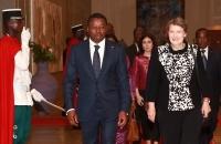 29 Mars 2017 : Mme Helen Clark, Administrateur du PNUD, élevée au rang de Commandeur de l'Ordre du Mono par le Chef de l'Etat Faure Gnassingbé  (4)