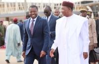 Les présidents Faure Gnassingbé et Mahamadou Issoufou à Niamey le 5 octobre 2017 (5)