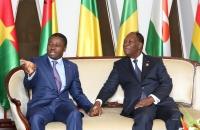 Faure Gnassingbe et Alassane Ouattara - Sommet de l'UEMOA - 10 avril 2017