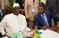 Faure Gnassingbe et Macky Sall - Sommet de l'UEMOA - 10 avril 2017