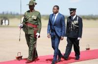 Faure Gnassingbé accueilli à son arrivée à Lusaka par son homologue Edgar Lungu - 8 mai 2017