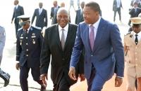 Faure Gnassingbe et Daniel Kablan Duncan au Sommet de l'UEMOA - 10 avril 2017 (bis)