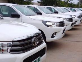 le-gouvernement-dote-les-mairies-de-vehicules-de-commandement