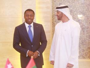le-fonds-d-abu-dhabi-reaffirme-son-engagement-a-accompagner-le-togo-dans-la-realisation-du-pnd