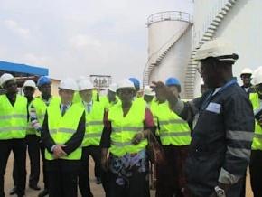 le-ministre-du-commerce-et-de-la-promotion-du-secteur-prive-inaugure-deux-nouveaux-reservoirs-de-la-societe-togolaise-d-entreposage