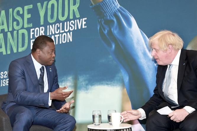 a-londres-le-chef-de-l-etat-s-est-entretenu-avec-le-premier-ministre-britannique