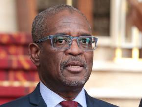 le-president-de-la-commission-de-l-uemoa-presente-au-chef-de-l-etat-le-niveau-des-reformes-communautaires-au-togo