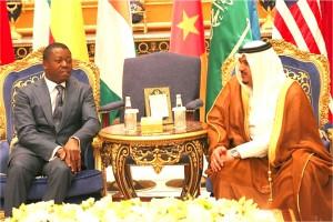 """Résultat de recherche d'images pour """"togolese president saoud djeddah"""""""