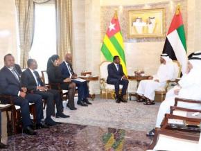 le-togo-et-le-fonds-khalifa-formalisent-les-engagements-pris-en-mars-a-abou-dhabi