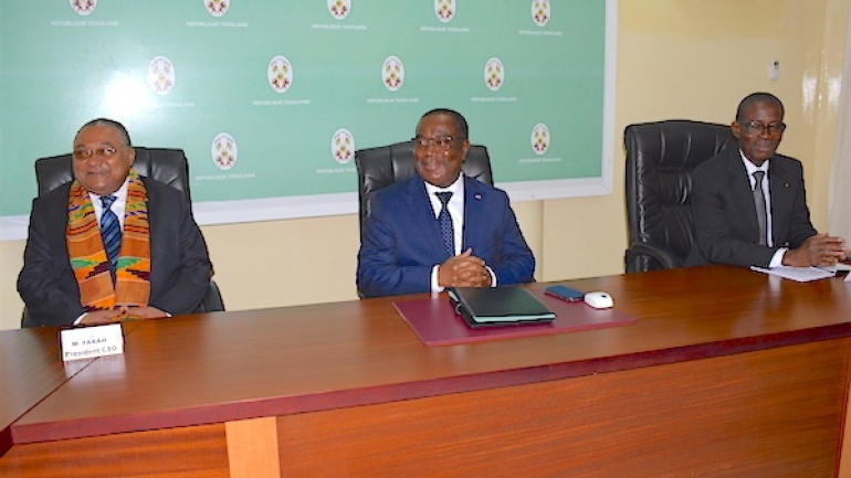le-premier-ministre-recoit-en-audience-une-delegation-de-l-ordre-national-des-architectes-du-togo
