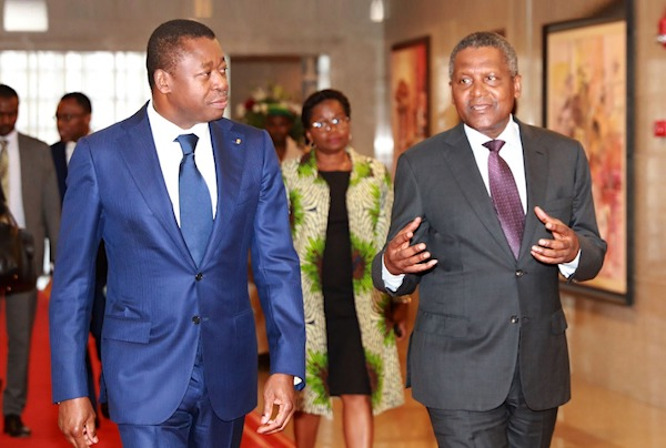 le-togo-et-dangote-group-signent-deux-importants-accords-de-partenariat-industriels-et-miniers