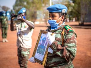 la-minusma-rend-hommage-au-casque-bleu-togolais-decede-lors-de-l-attaque-de-kerena