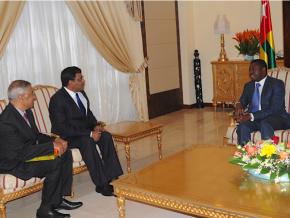 une-delegation-indienne-echange-avec-le-chef-de-l-etat-sur-le-commerce-et-l-energie